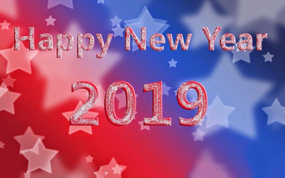 Hình Ảnh Chúc Mừng Năm Mới 2019 Ngôi Sao Sáng