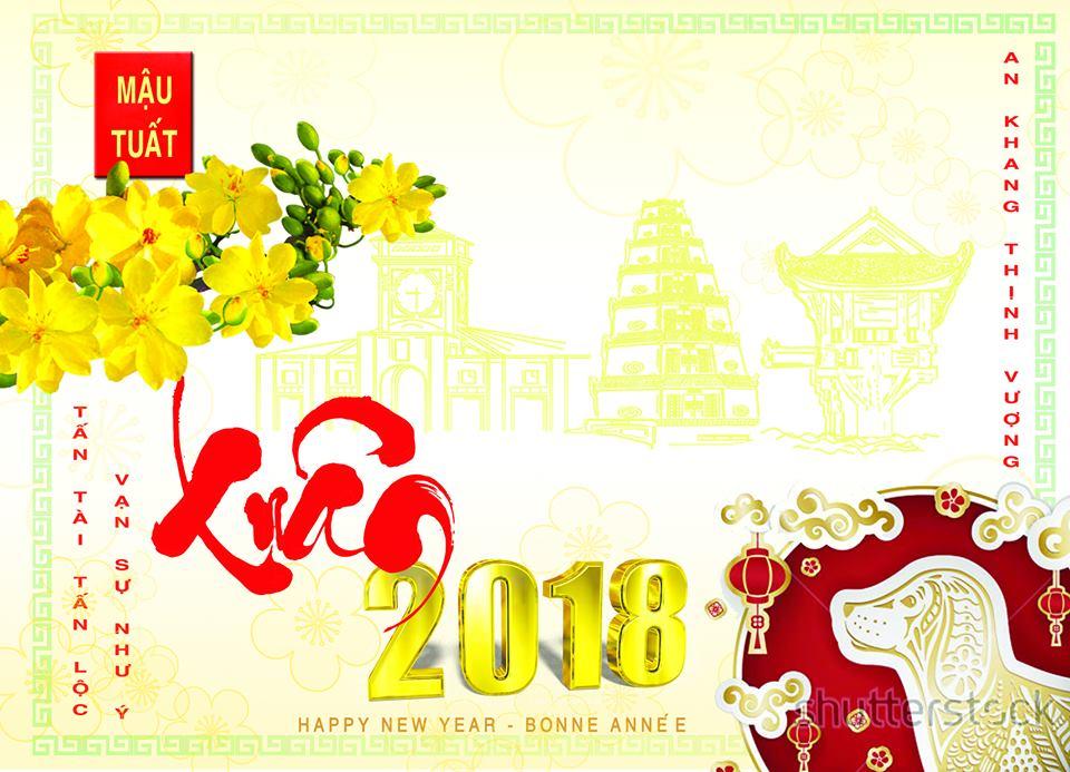 Kết quả hình ảnh cho thiệp chúc mừng năm mới 2018